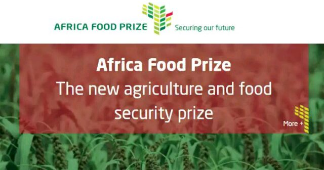 Apply for Africa Food Prize 2016