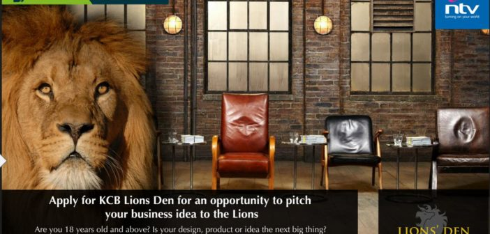 Meet the two lionesses at the  KCB Lion's Den