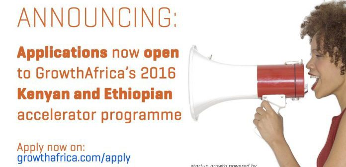 GrowthAfrica Accelerator Programme for entrepreneurs in Kenya and Ethiopia