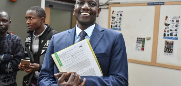 William Ruto PhD