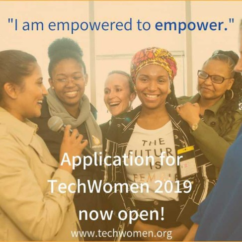 TechWomen 2019 Emerging Leaders